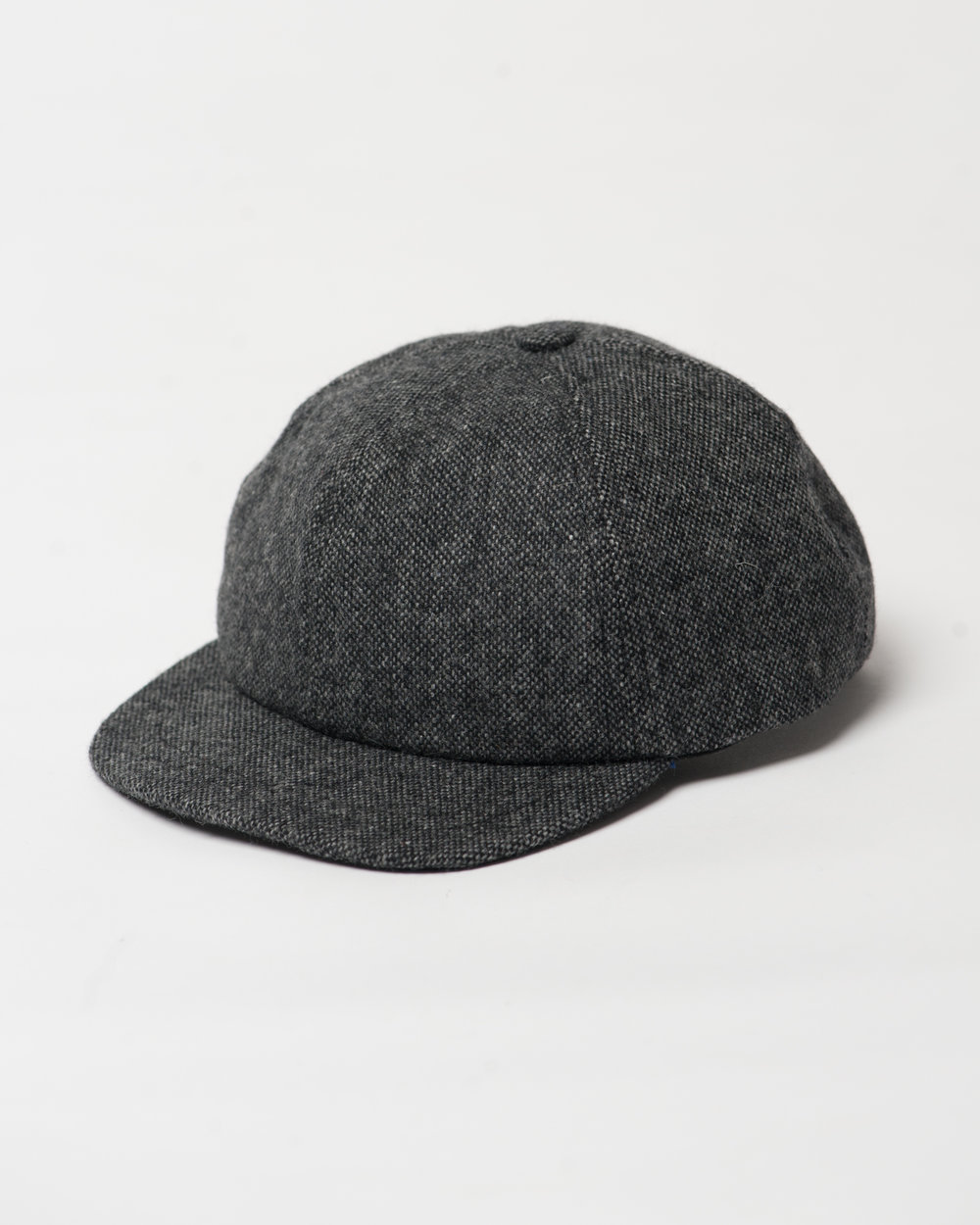 Kids Black Mix Wool Toddler Cap Front FW17.jpg