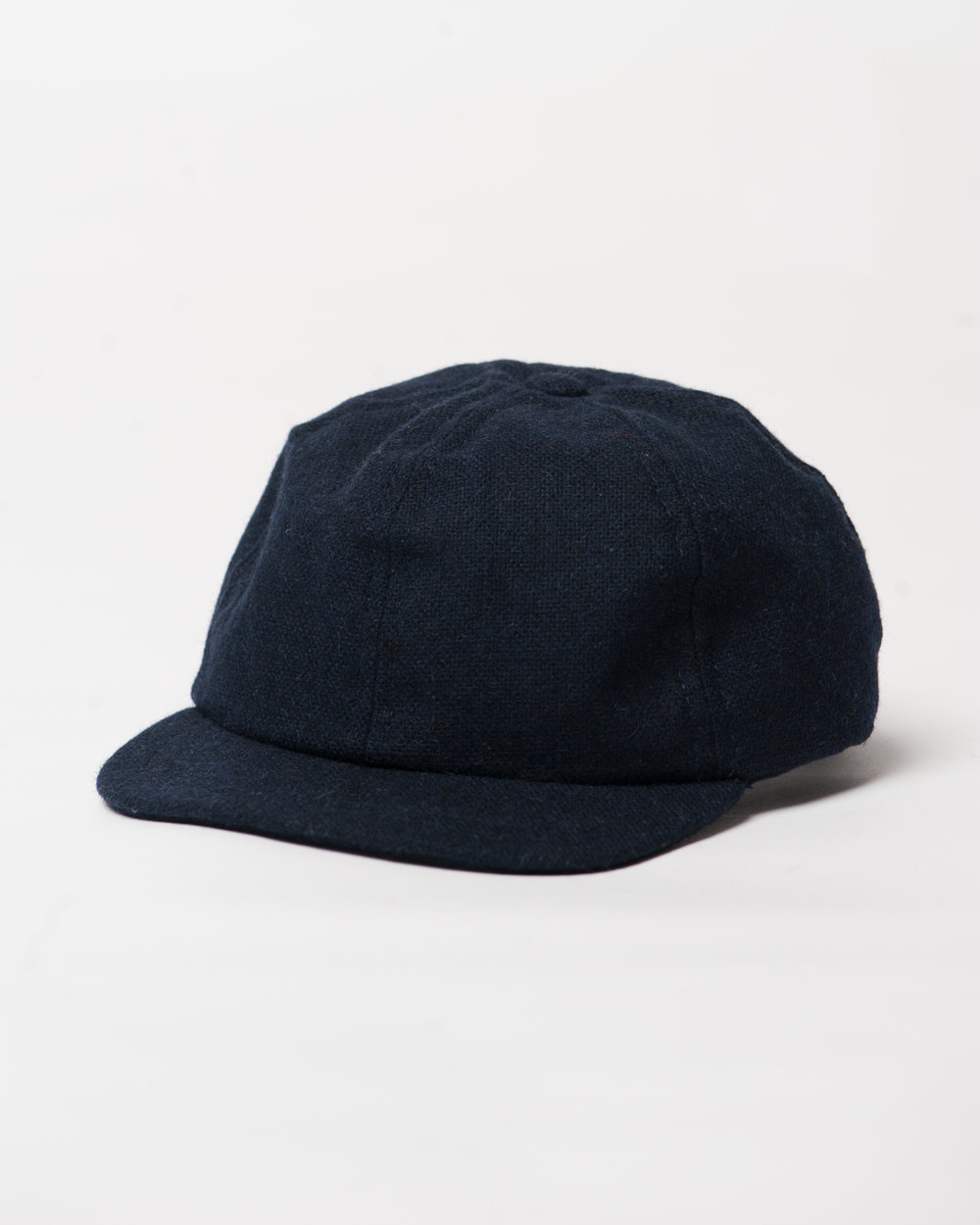 Kids Navy Wool Toddler Cap Front FW17.jpg