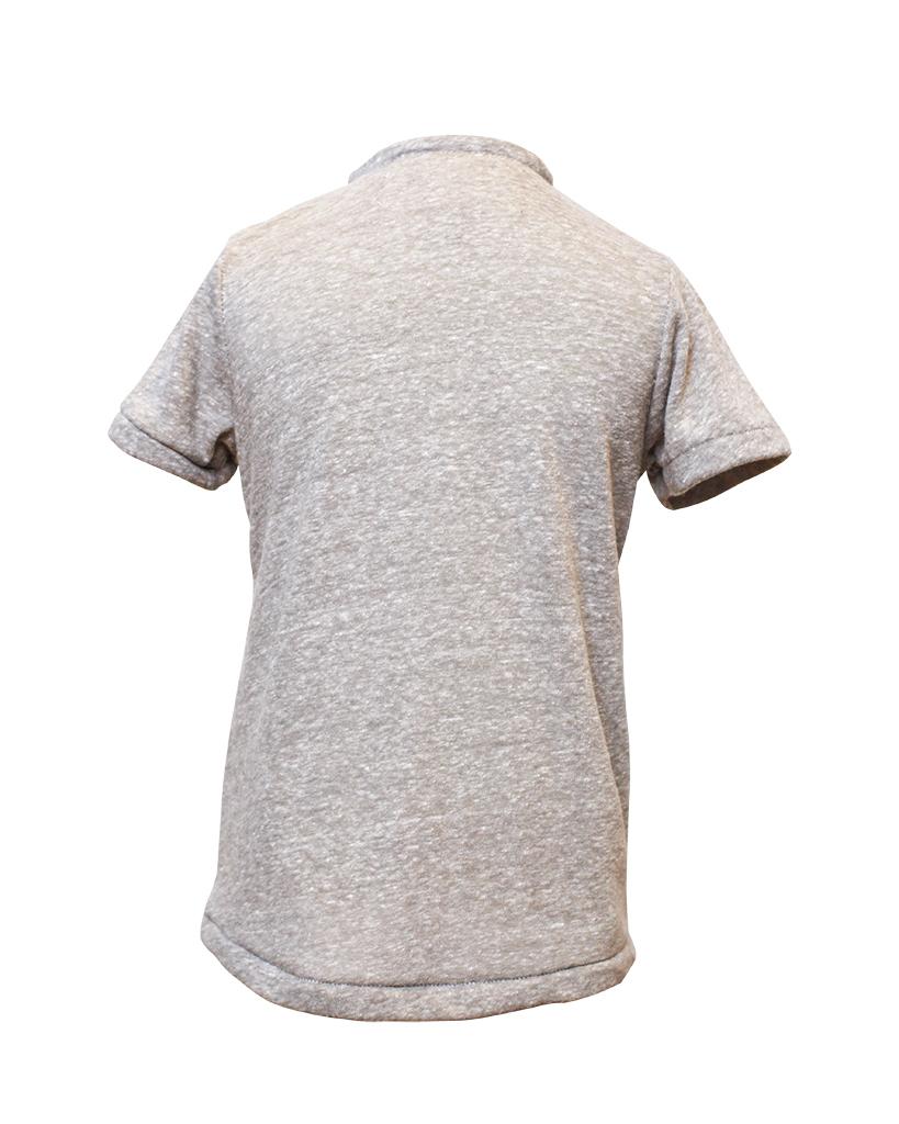 Kids Grey Henley Shirt Back.jpg