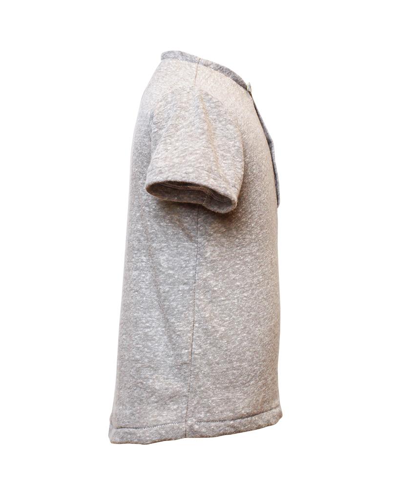 Kids Grey Henley Shirt Side.jpg