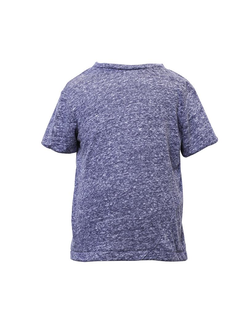Kids Navy Short Sleeve T-Shirt Front.jpg