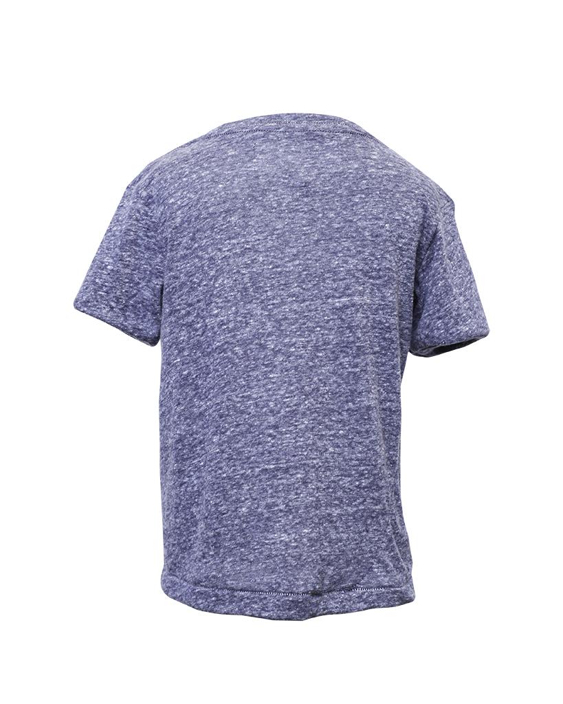 Kids Navy Short Sleeve T-Shirt Back.jpg