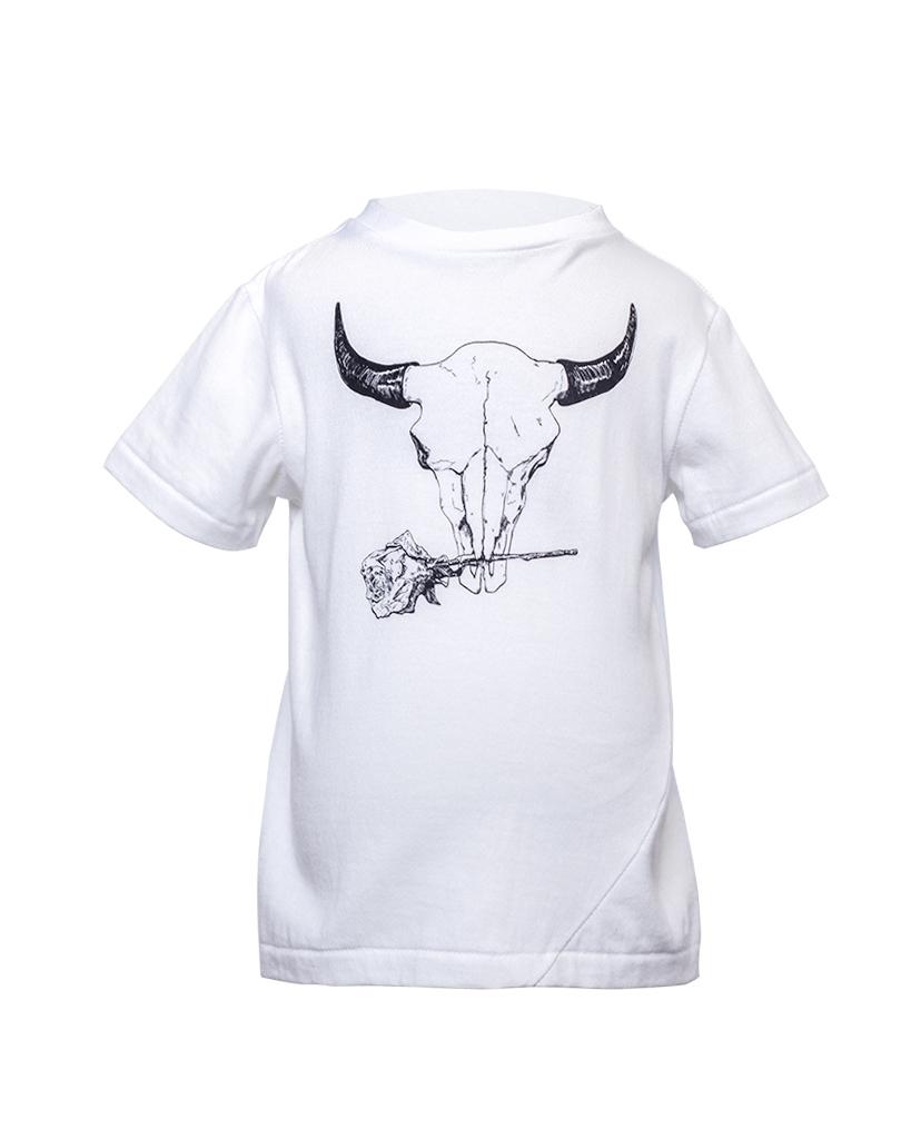 Kids Bison Graphic T-Shirt Front.jpg