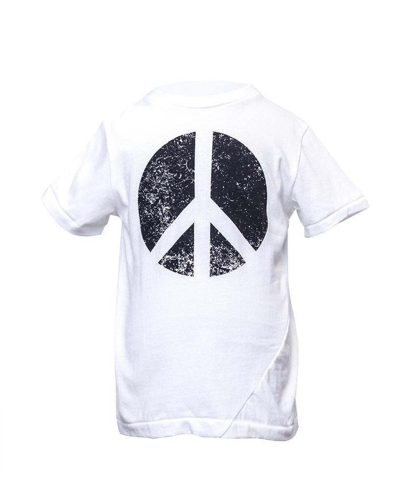 Kids Peace Graphic T-Shirt Front.jpg