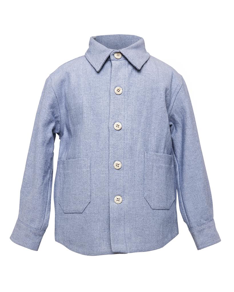 Kids Light Blue Denim Jacket Front.jpg