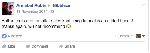 nibbleze knotless nets reviews