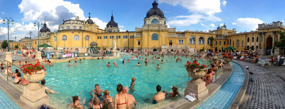 Széchenyi Thermal Baths.