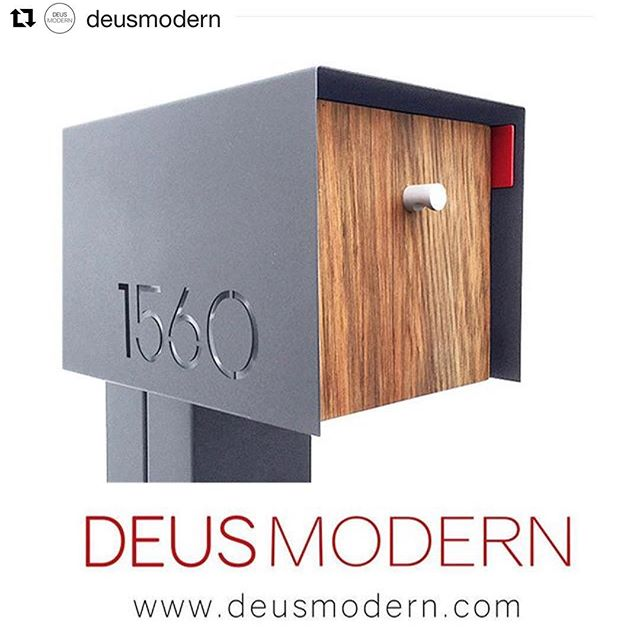 Happy New Year!  We were blown away by the popularity of our mailbox product line in 2017.  So much that we moved them under their own brand.  Check out @deusmodern and the online store to stay up do date. Excited for 2017 as we'll still be doing great things at @aeshdesign