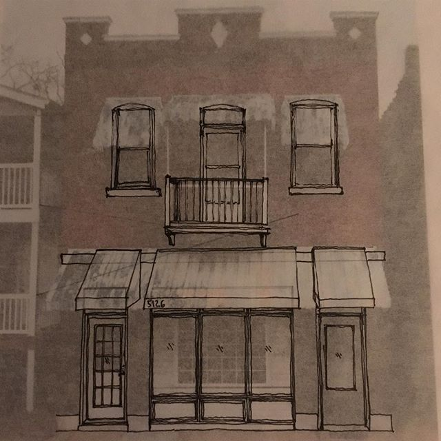 Facade improvement study...can't wait to see this guy come back to life #stlouis #onebuildingatatime #renovation