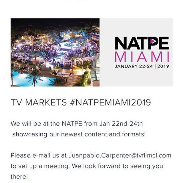 Nos vemos en Natpe 2019