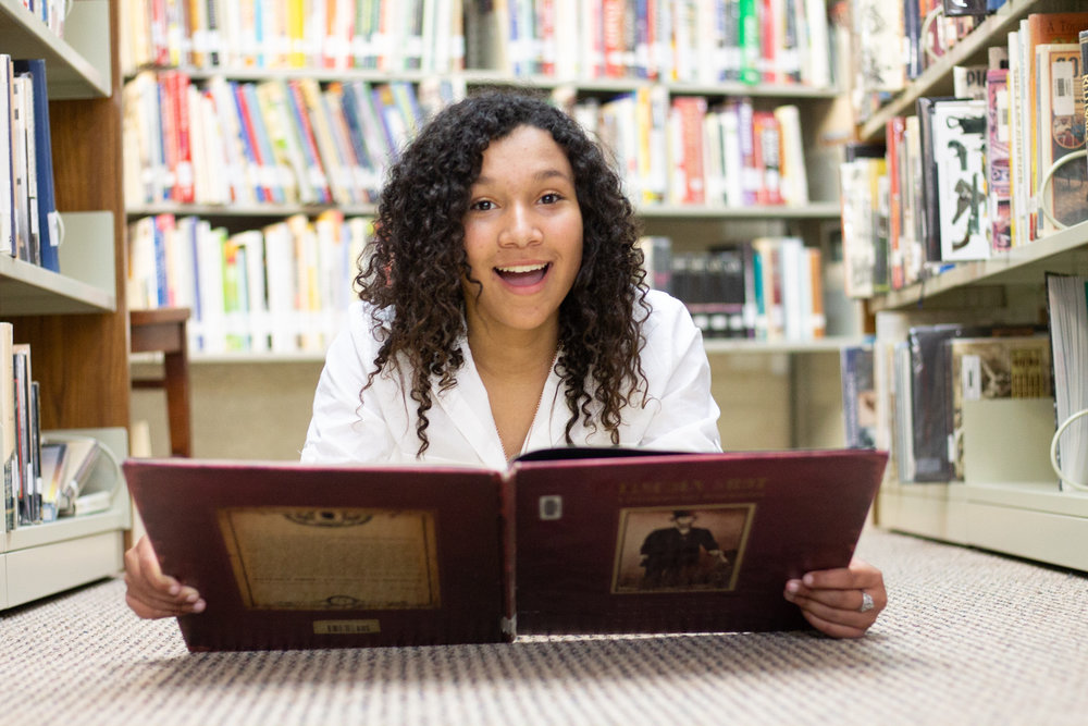 Autumn Stubbs ( Study Time In The Library  She Has That Smile That Look That Just Fills You With Joy And Happiness.