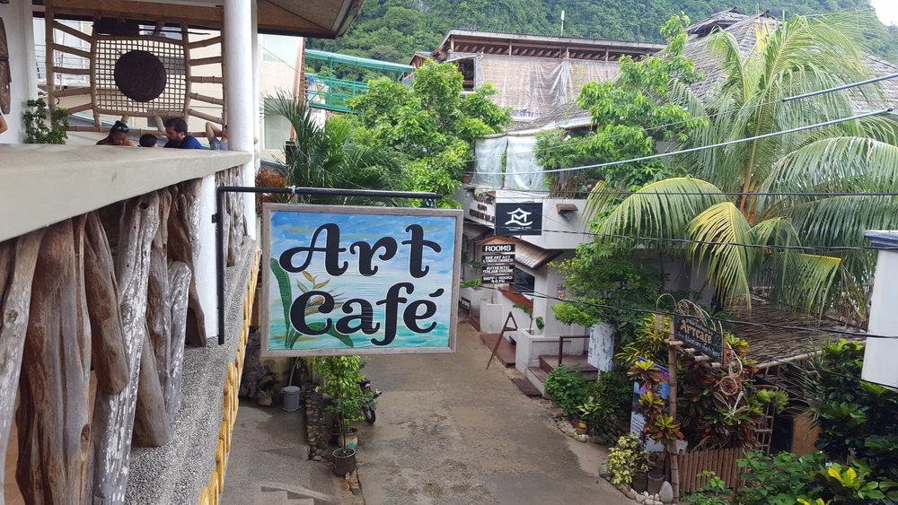 Art Cafe El Nido, Palawan