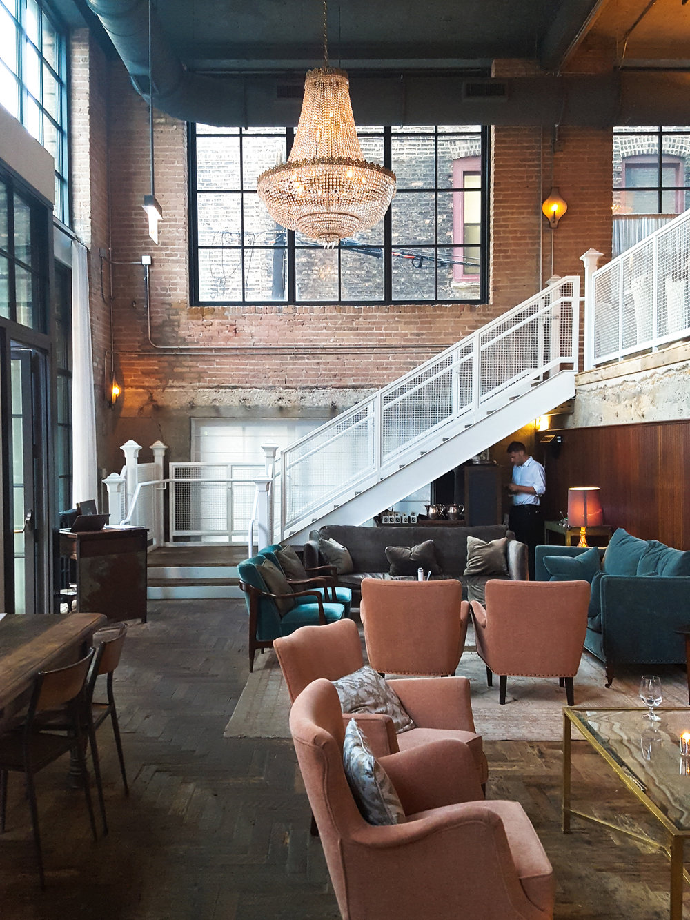 Possibly the most photogenic and Insta-ready room in Chicago - The Allis at Soho House