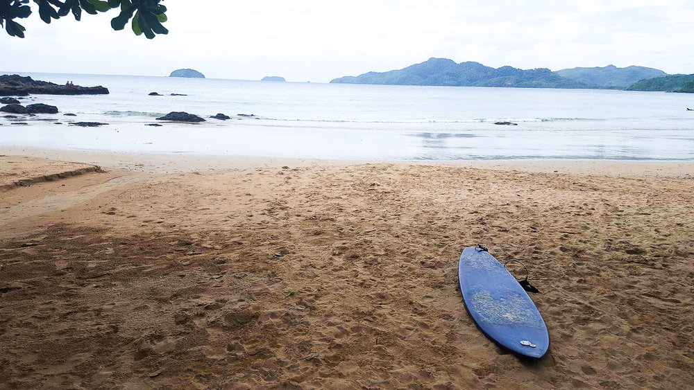 Duli Beach is the perfect surf spot for beginners