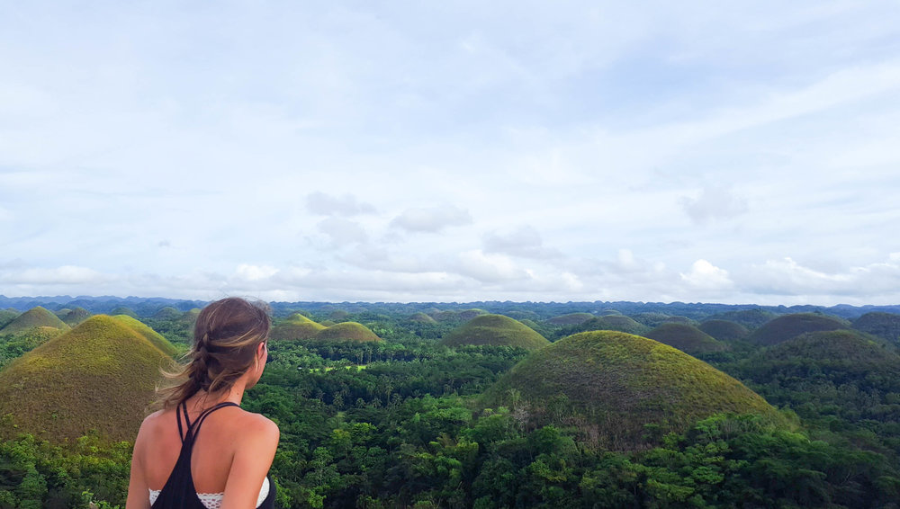 There's nothing like renting a scooter for the day and taking it to see the Chocolate Hills
