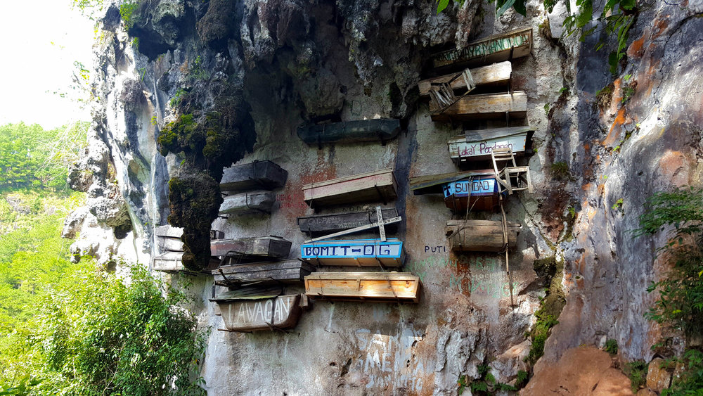 The hanging coffins of Sagada were eerier than expected, but a great history lesson!