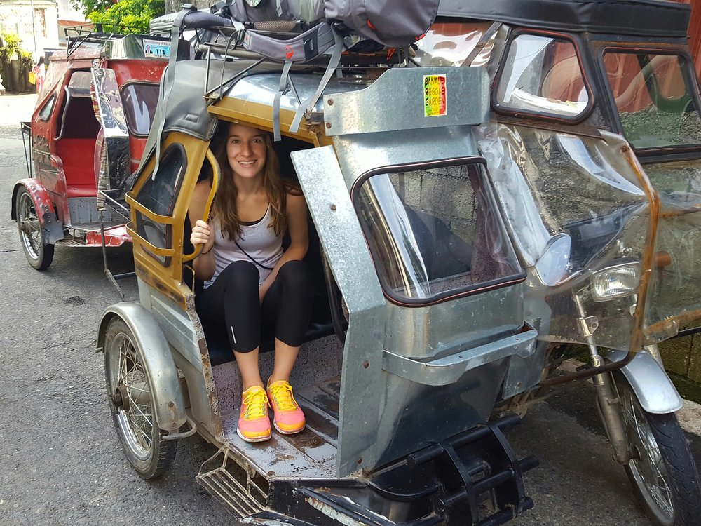Travel like a local in the Philippines by riding in a sidecar