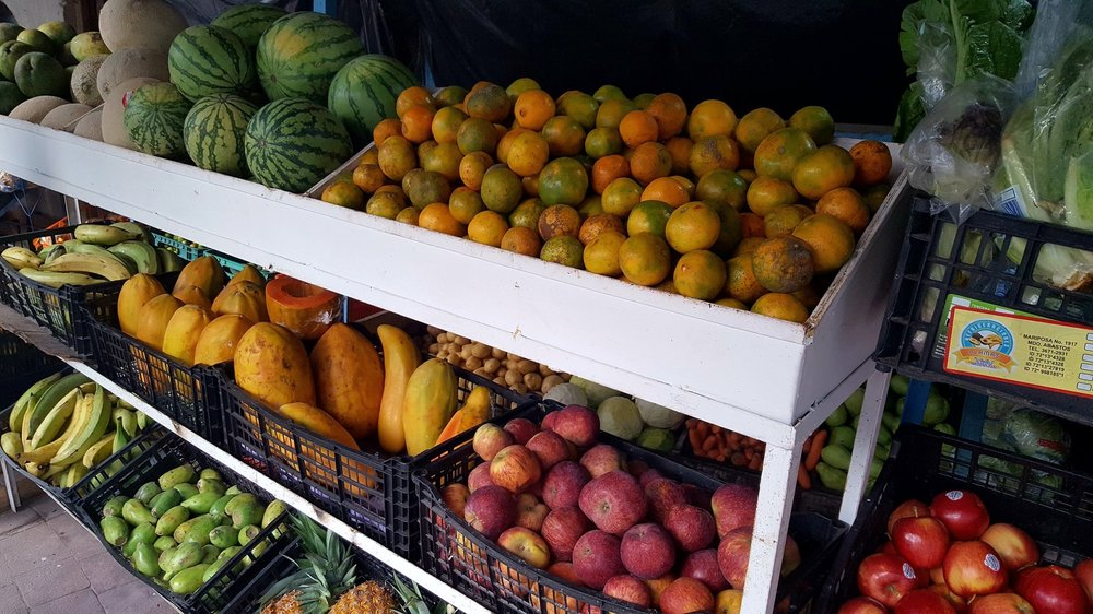 Fresh fruit is easy to come by in Sayulita