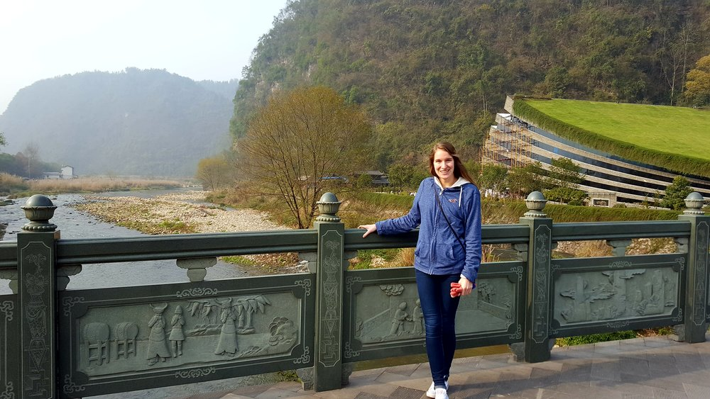 The Winter in China is COLD up north. Had I planned on visiting Zhangjiajie ahead of time, I would've packed a warmer coat!
