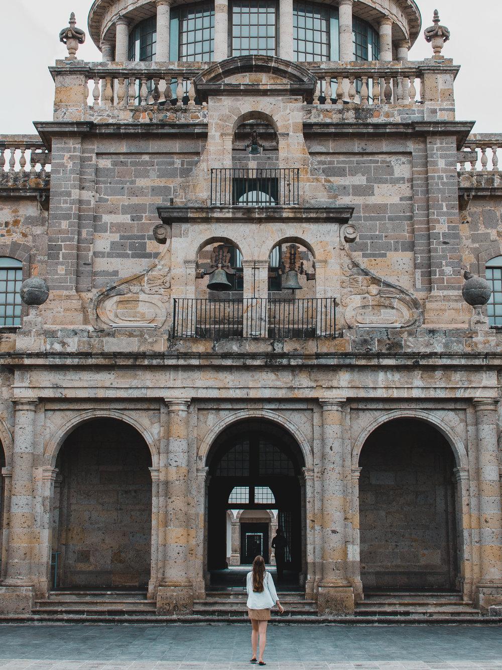 We spend hours walking around Instituto Cultural Cabanas