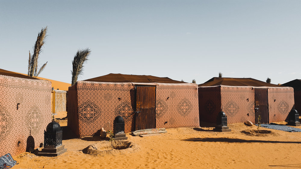 Ali and Sarah's Desert Palace, Sahara Desert, Morocco