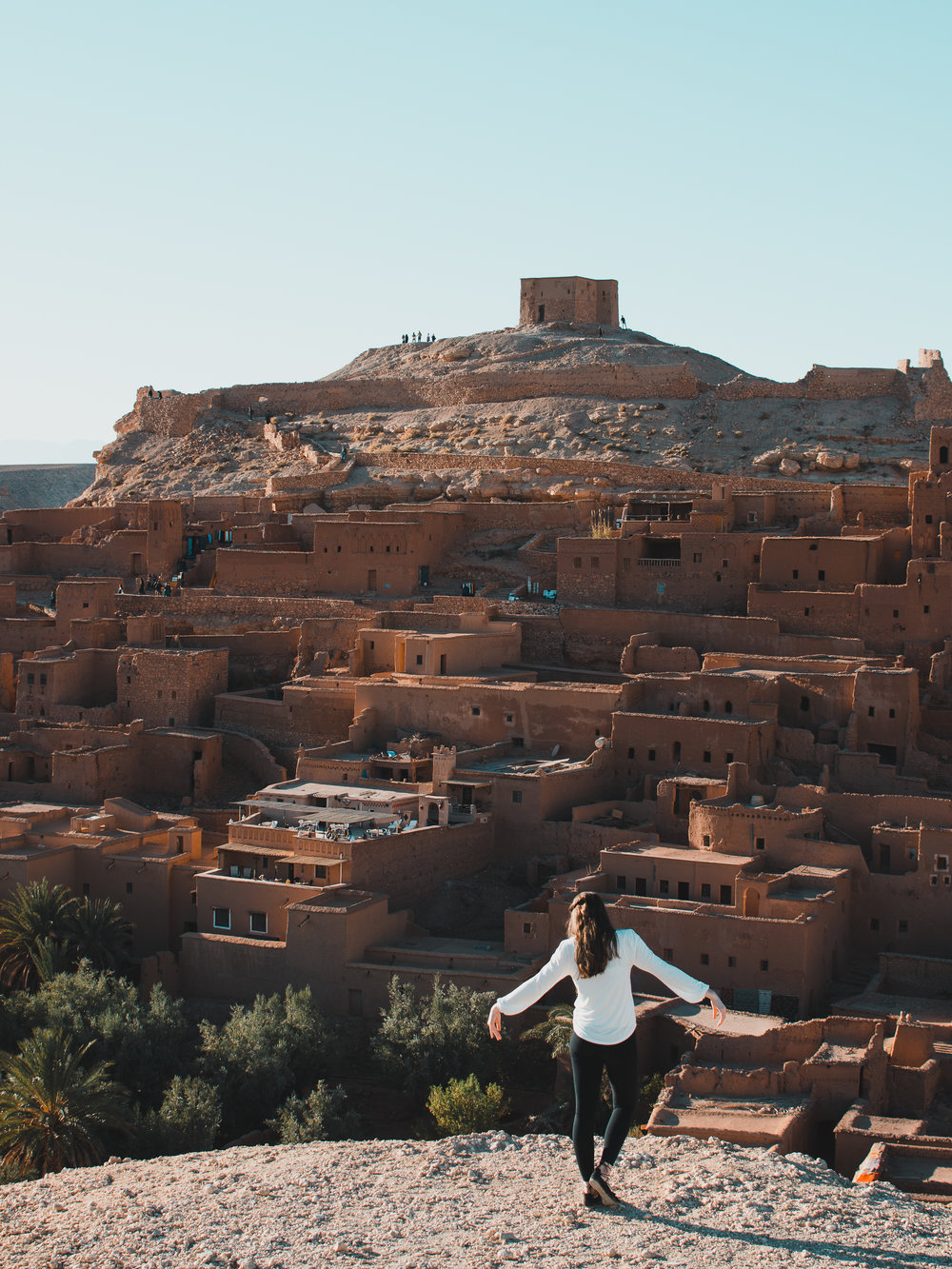Ait Benhaddou in Morocco was a filming location for the Game of Thrones TV series