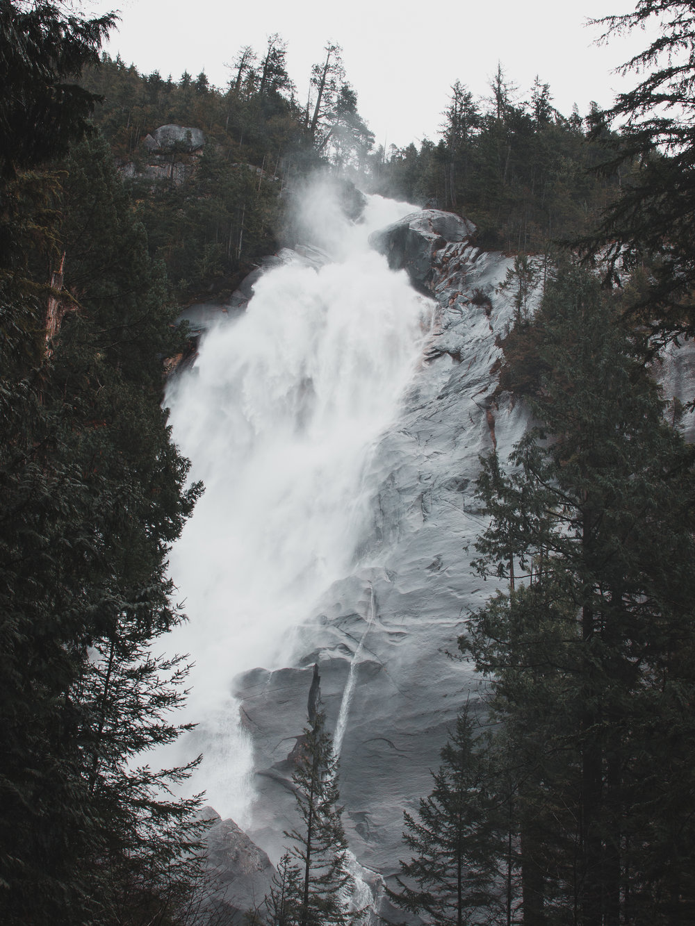 If you're staying in Squamish you definitely need to check out Shannon Falls