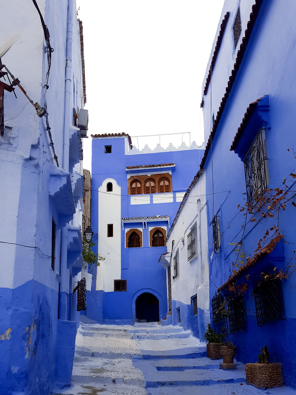 Chefchaouen is the famous blue city of Morocco