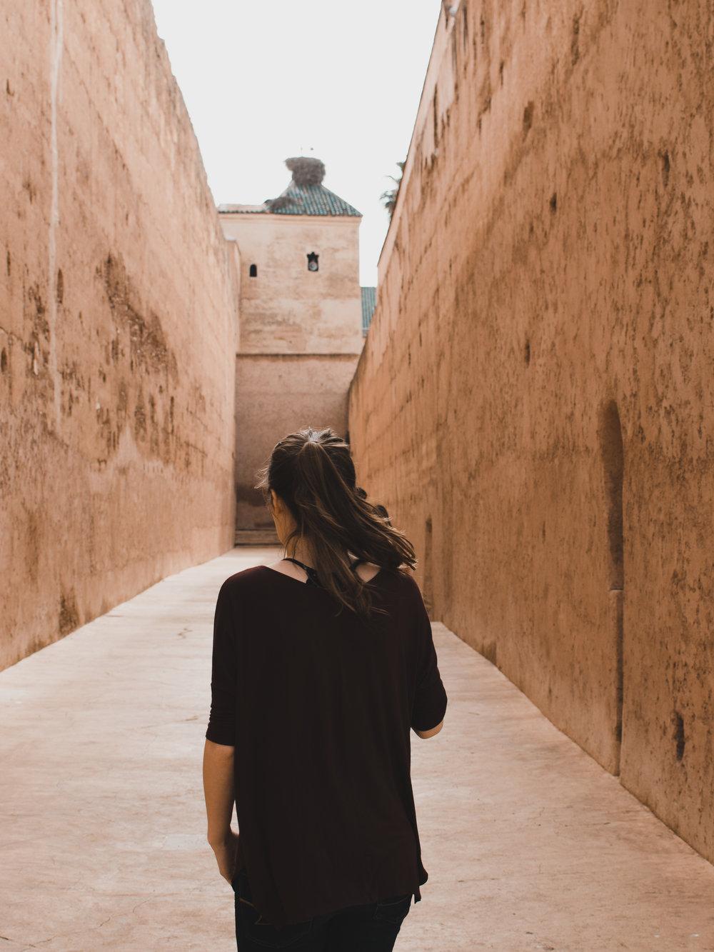 I began my 2 week backpacking trip through Morocco in Marrakech
