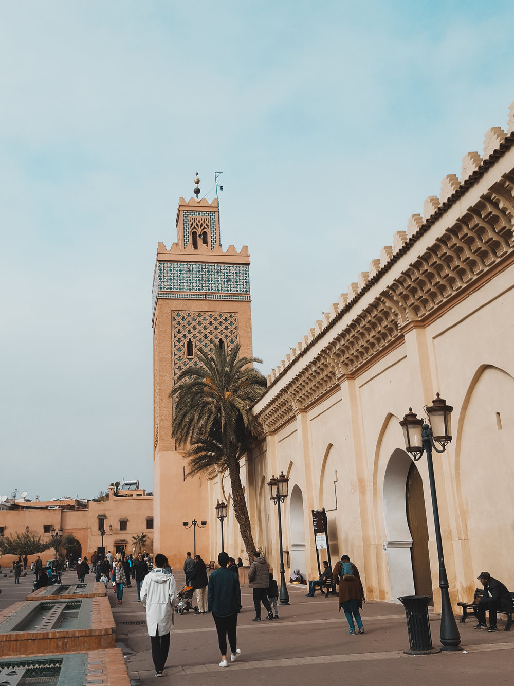Ended our Morocco trip where we started - in Marrakech