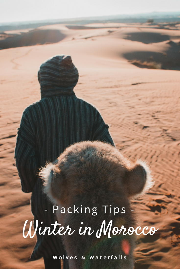 What to pack for a winter trip to Morocco
