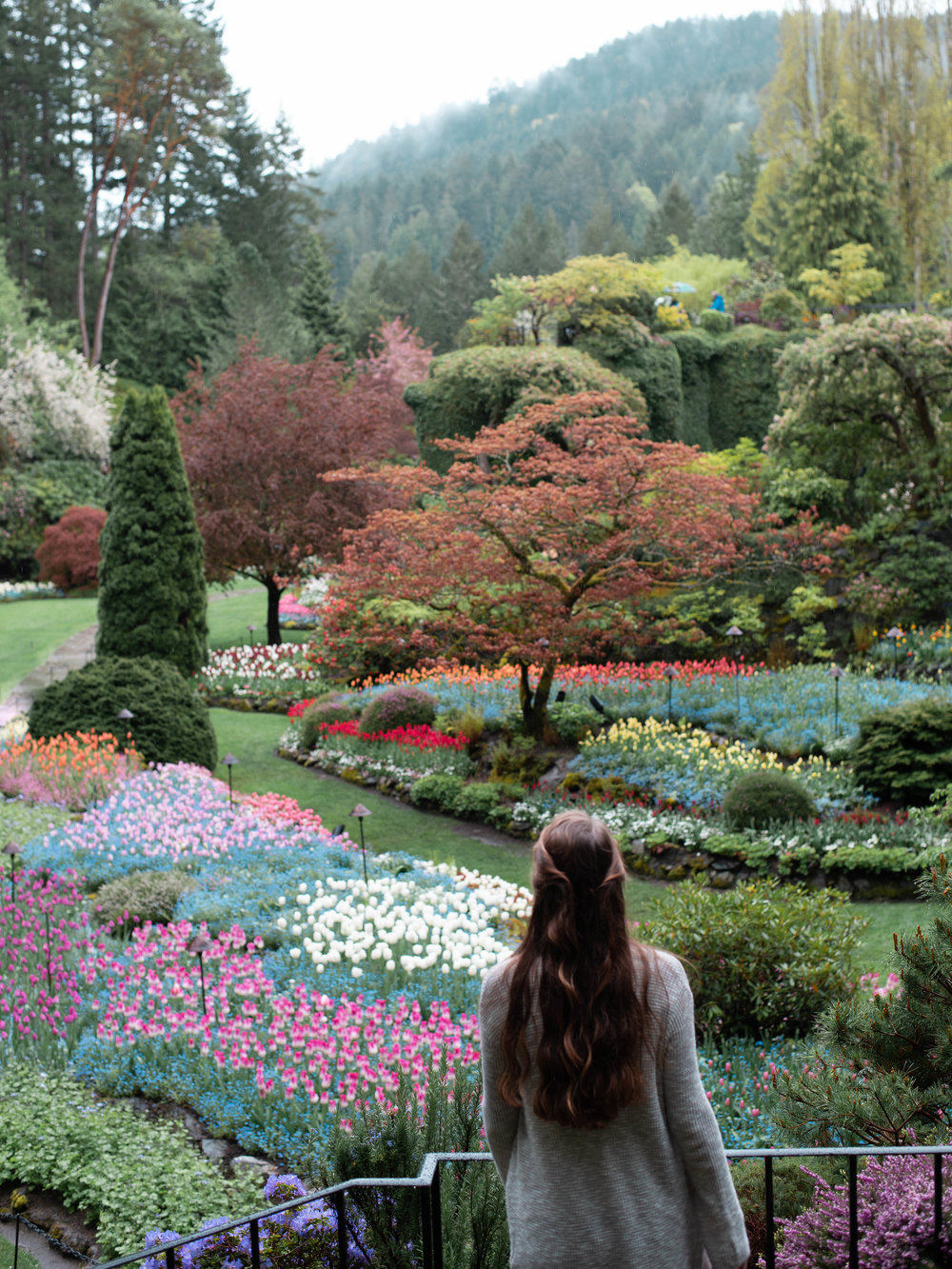 Touring The Butchart Gardens in Victoria was a highlight of our trip