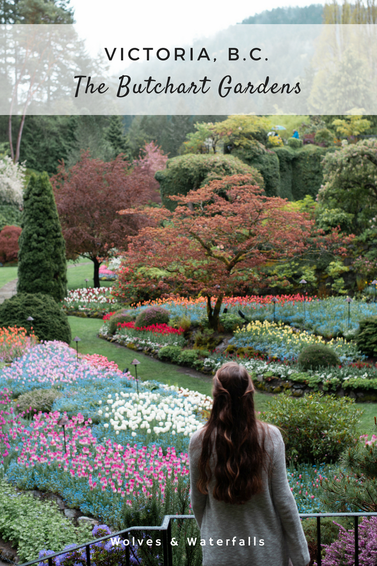 Visiting the Butchart Gardens in Victoria, B.C.