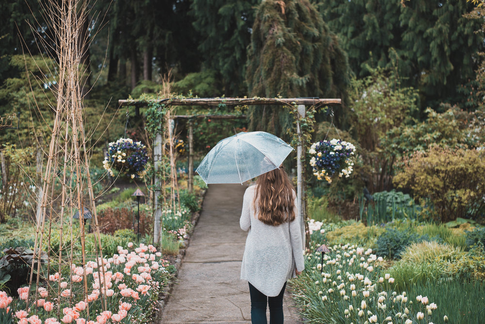 Springtime at The Butchart Gardens in Victoria