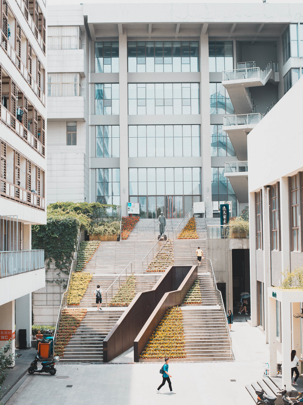 Escape the crowds at the Nanjing University of Arts