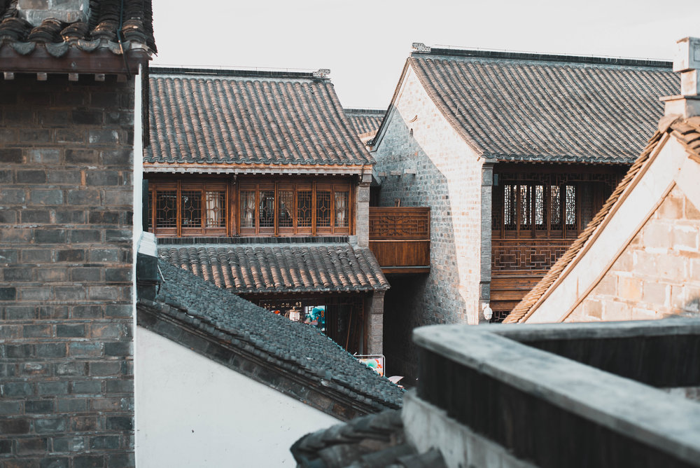 Visit Fuzimiao in Nanjing and check out the traditional architecture