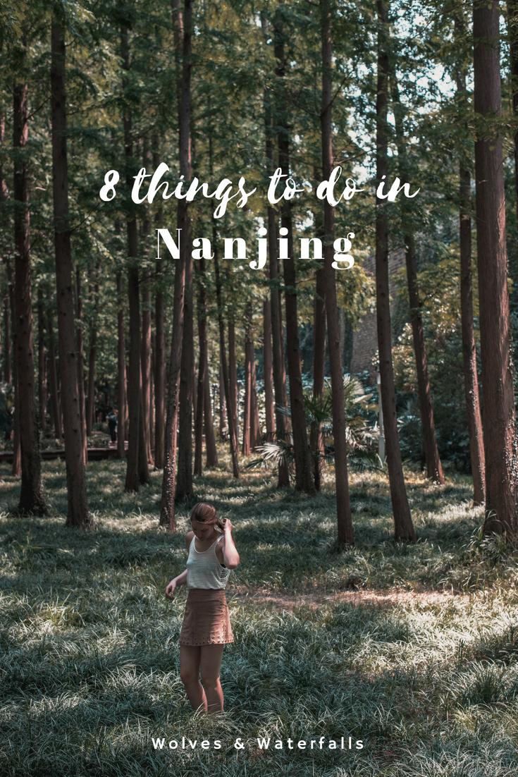 8 Things to do in Nanjing, China