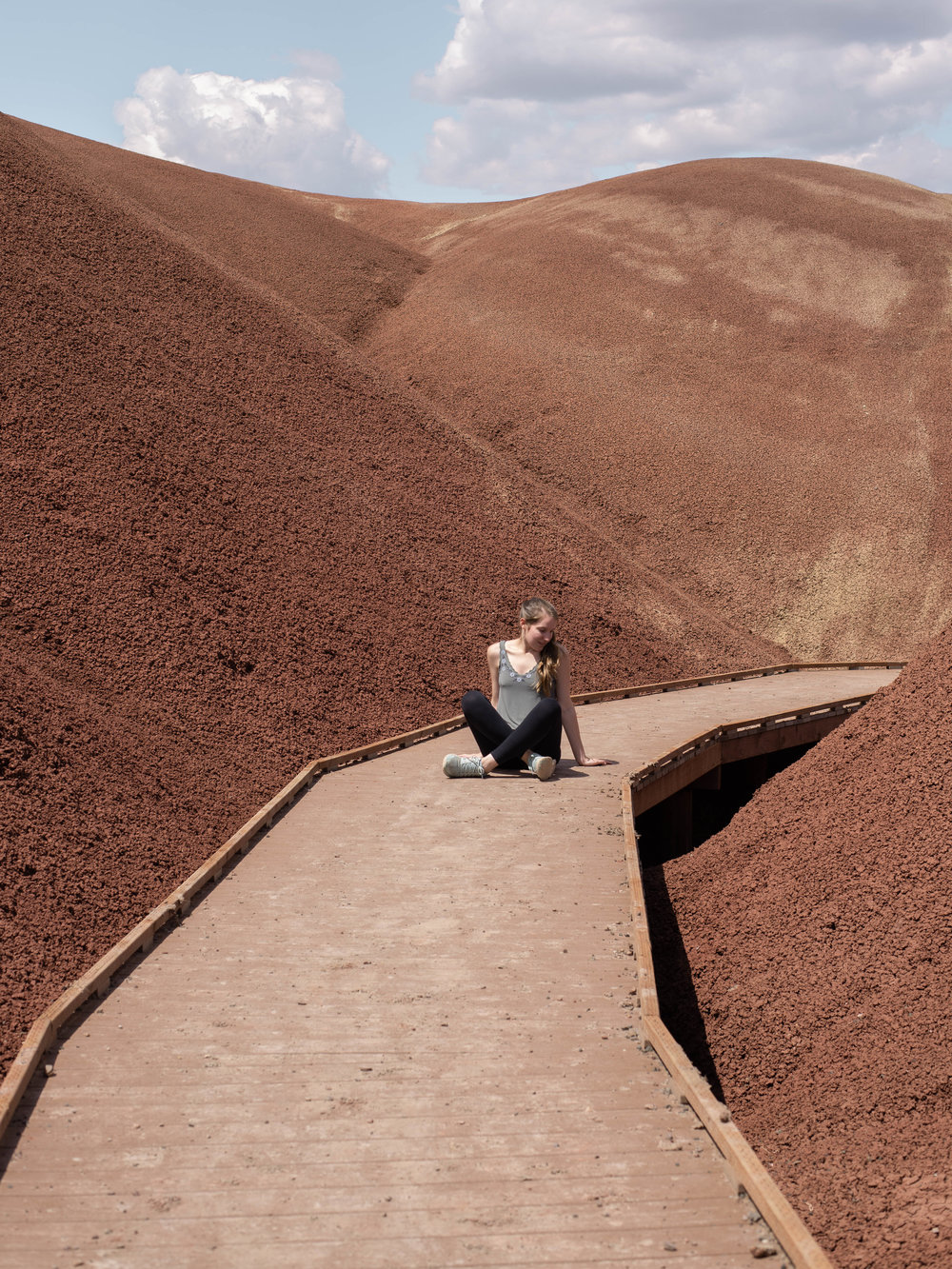 Visiting the Painted Hills on a Central Oregon road trip