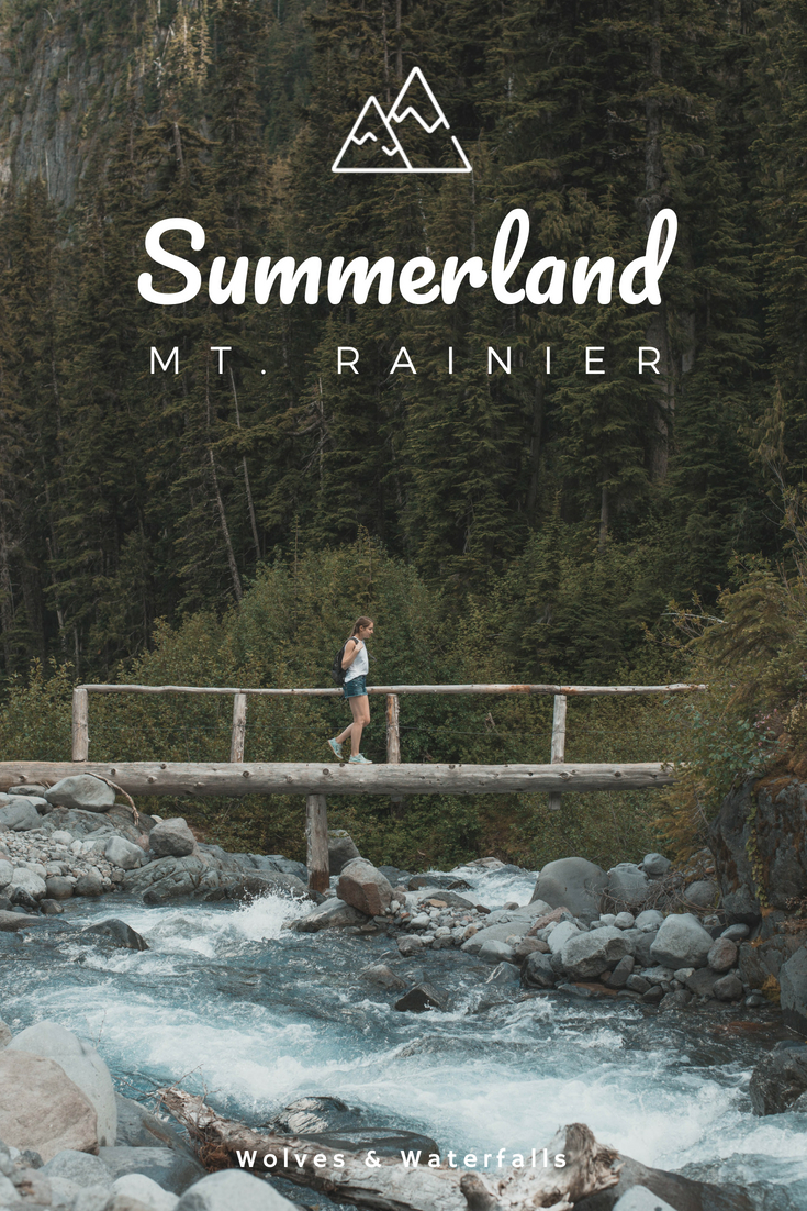 Hiking Summerland - Panhandle Gap in Mt. Rainier National Park