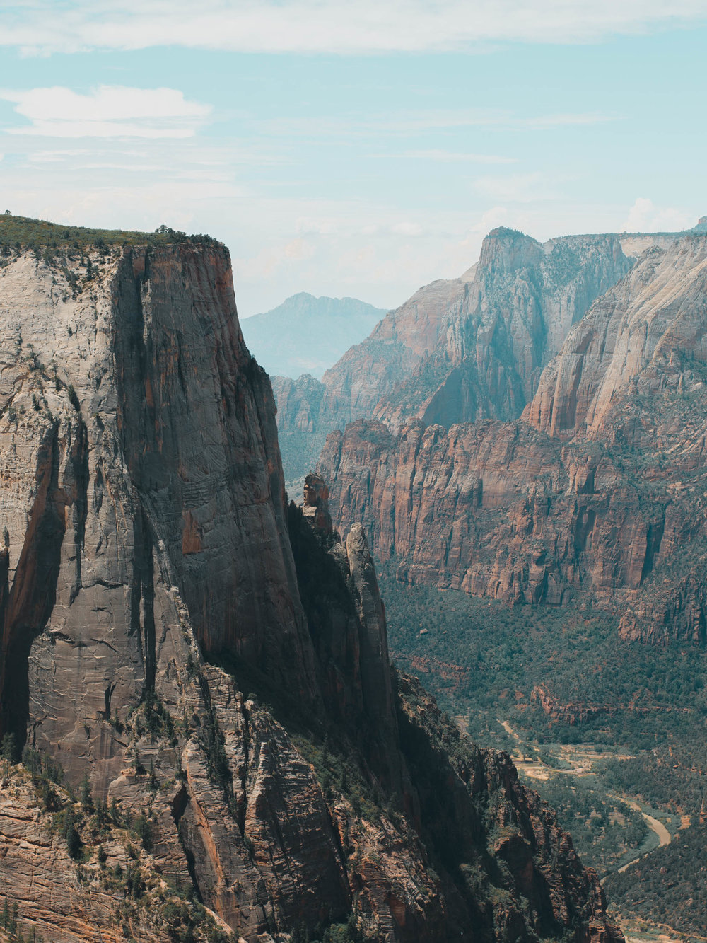 Views from our hike to Observation Point in Zion National Park
