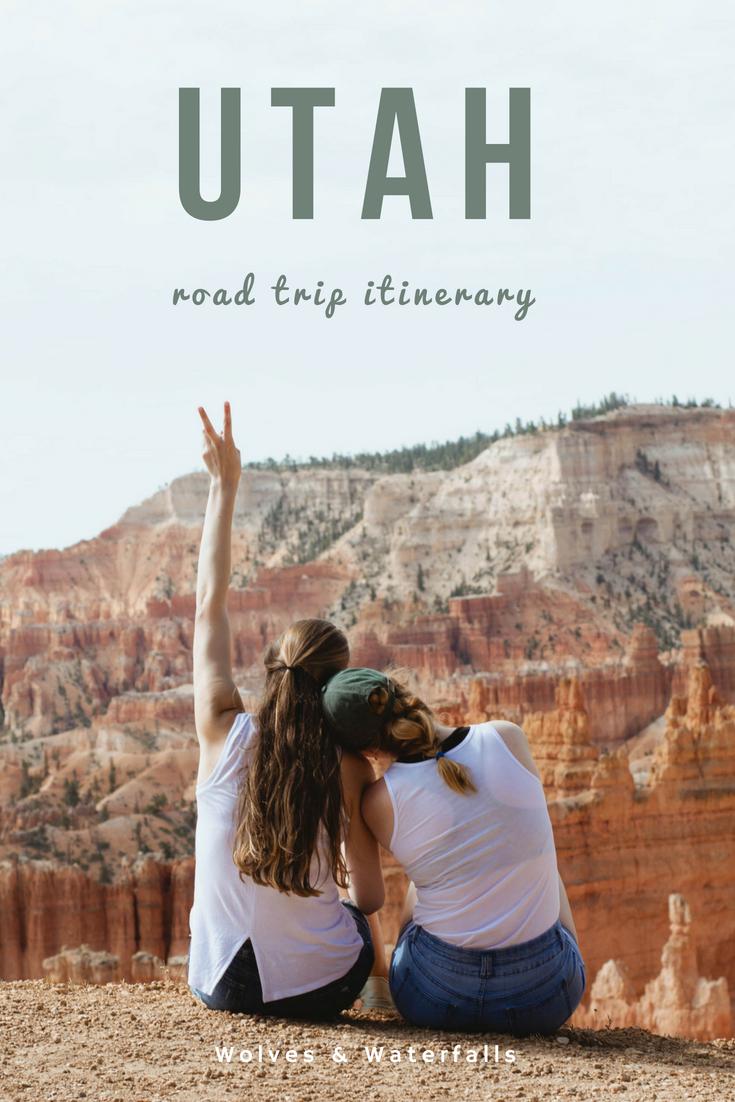 1 Week Seattle to Utah Road Trip Itinerary