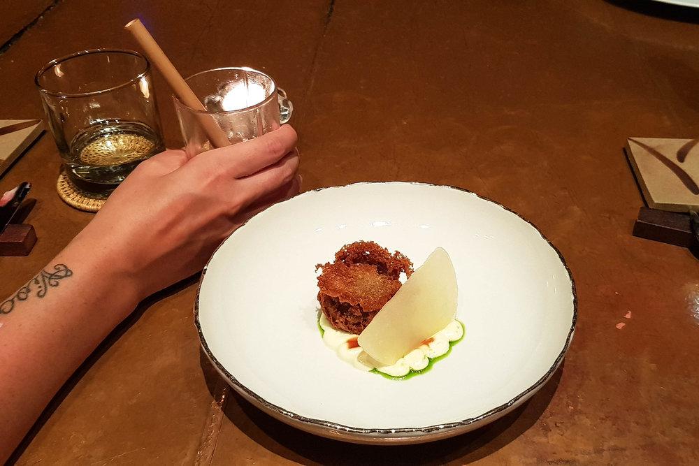 Scarborough Pear dish at Room 4 Dessert