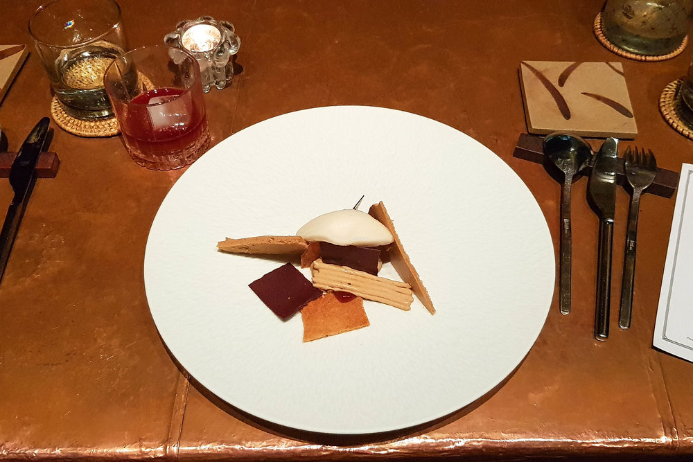 The Sugar Refinery dish at Room 4 Dessert
