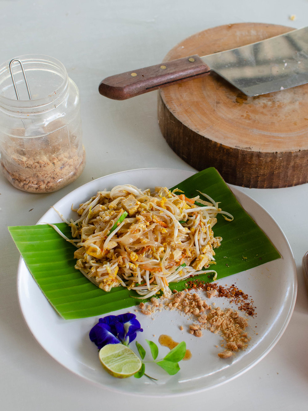 A dish I learned how to make at a Thai cooking class in Chiang Mai