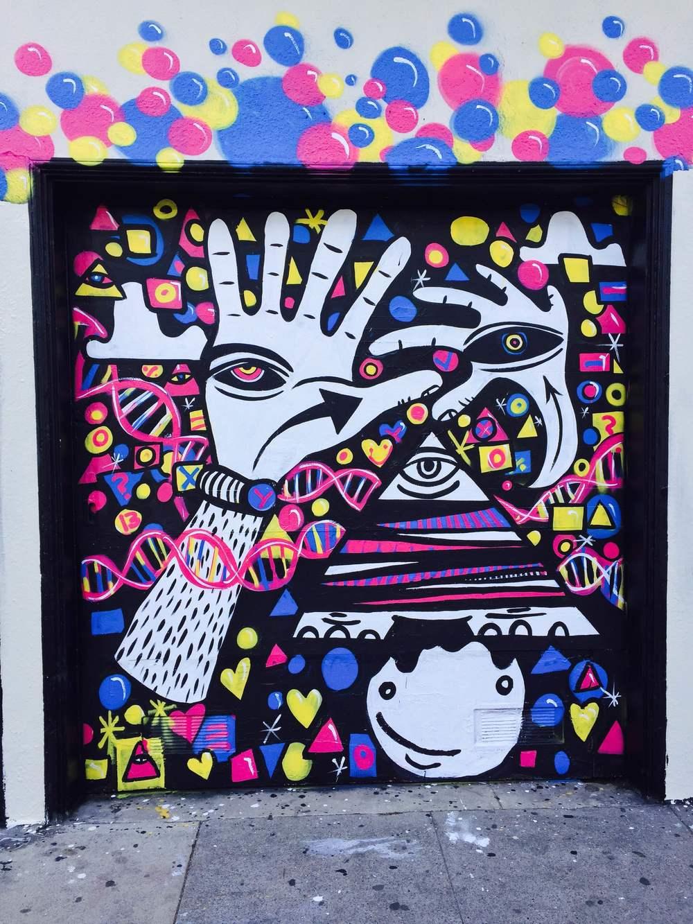 Bartlett mural panel 2