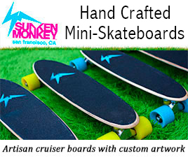 Sunken Monkey Skateboards