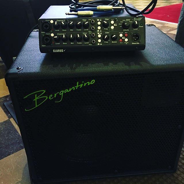 Loving this combo!  #acousticimage  #bergantino
