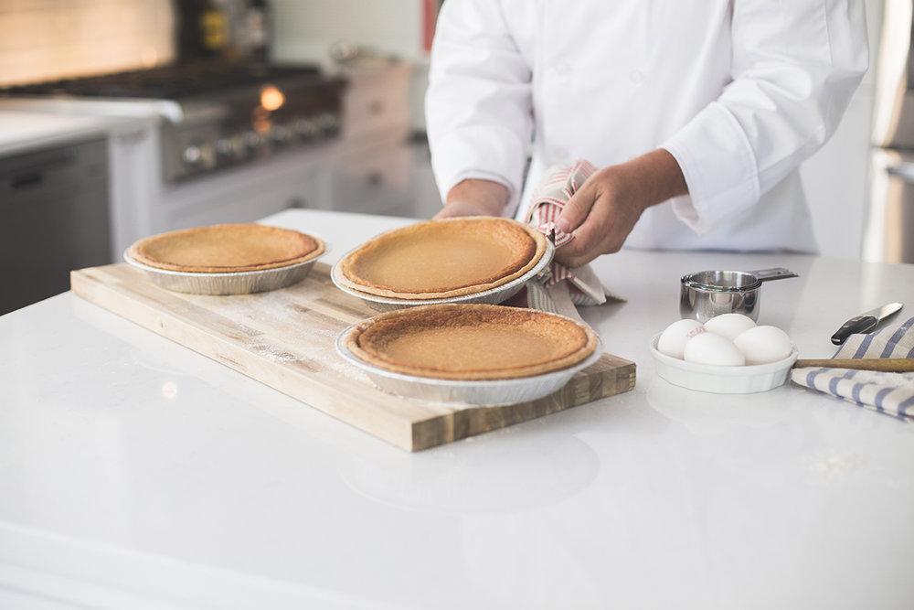 tarte au sucre à la crème Normand et filles Normand & filles