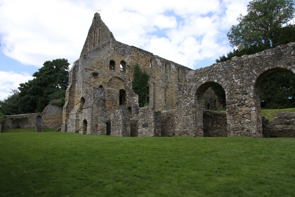 The Battle Abbey ruins. Photo by Walt Pomeroy