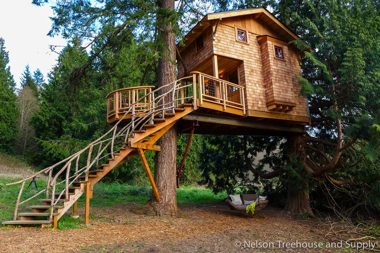 treehouse masters spa.  Spa Charlieu0027s Treehouse At Resort And Spa Intended Masters E